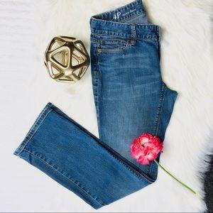 Ann Teylor Loft Women's Jeans Curvy Bootcut Size 4